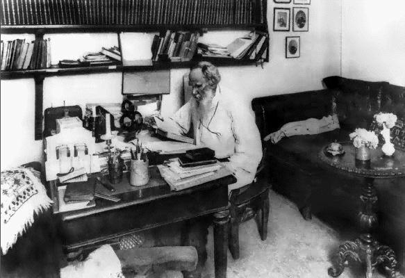 Je teste des routines d'écrivains : Léon Tolstoï
